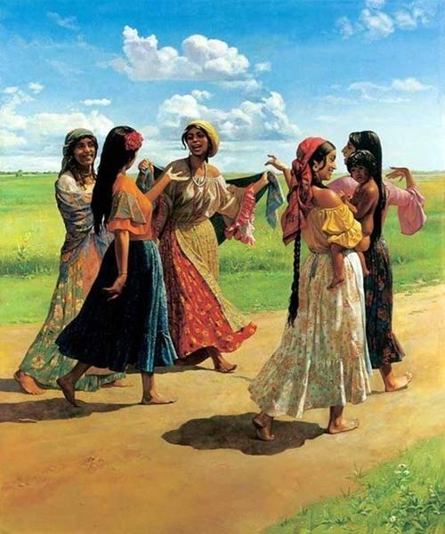 старинные гадания народов мира